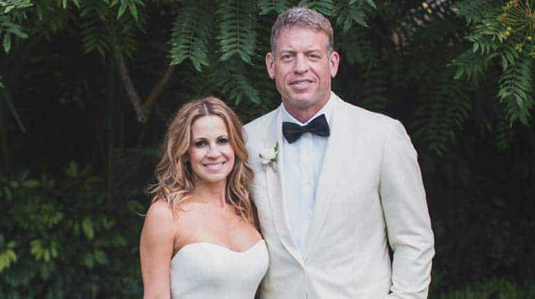 Image of Capa Mooty Age, Wikipedia, Divorce, the net worth of Troy Aikman's wife.