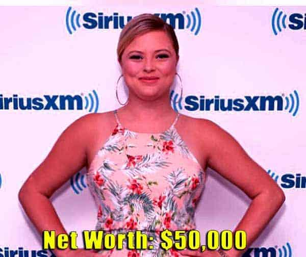 Image of Floribama Shore cast Aimee Hall net worth is $50,000