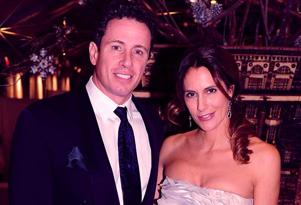 Image of Chris Cuomo with his wife Cristina Greeven Cuomo