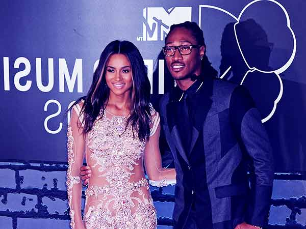 Image of Ciara with her ex-fiance Future