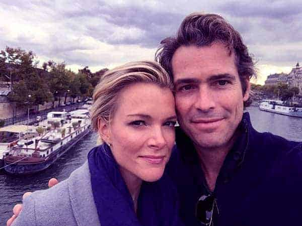 Image of Douglas Brunt with his wife Megyn Kelly