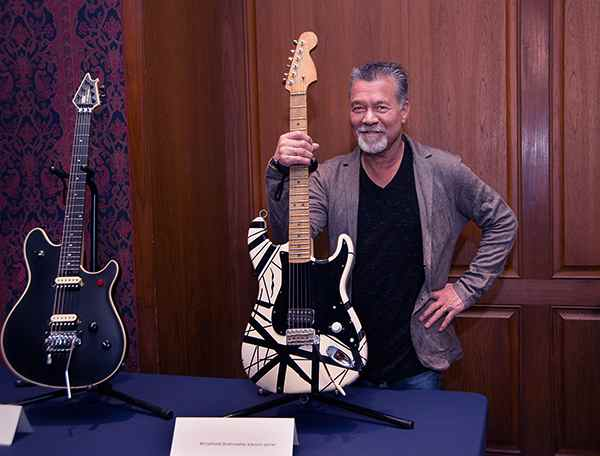 Image of Songwriter, Eddie Van Halen