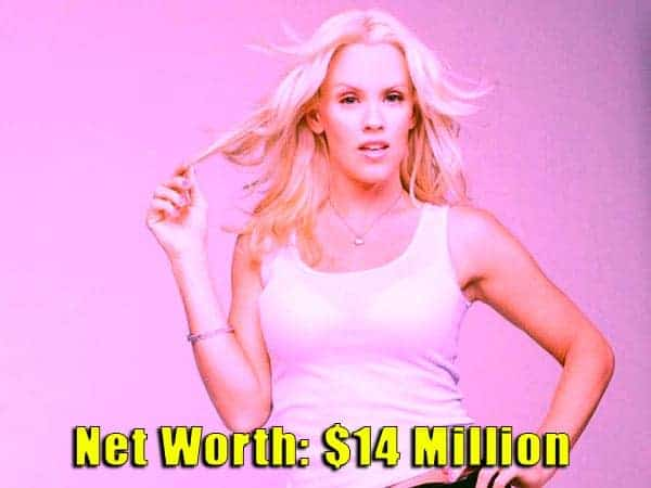 Image of Television presenter, Jenny McCarthy net worth is $14 million
