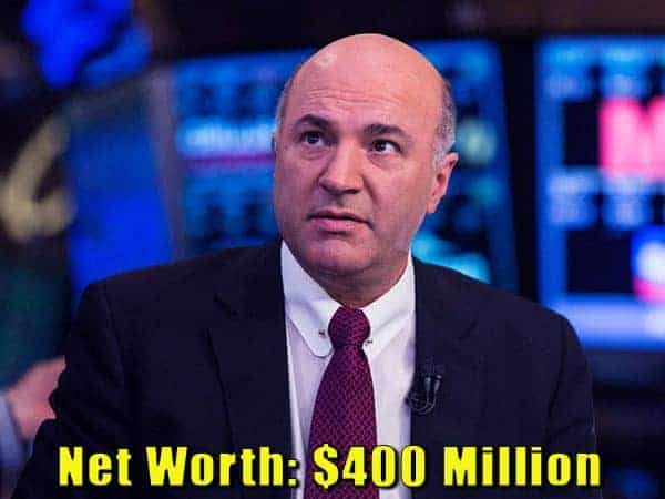 Image of Businessman, Kevin James O'Leary net worth is $400 million
