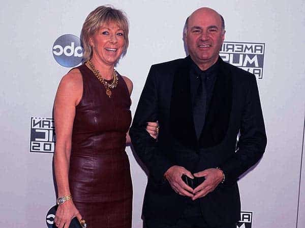 Image of Kevin James O'Leary with his wife Linda O'leary.
