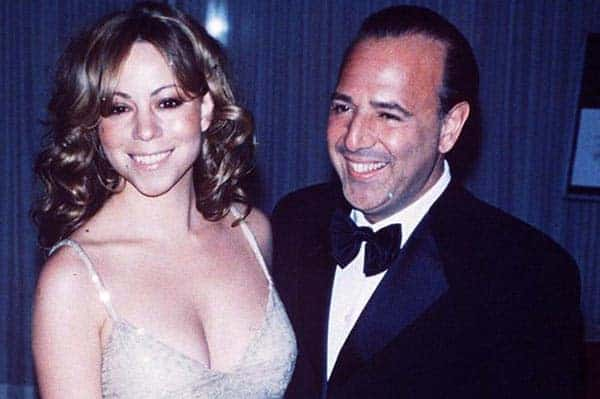Image of Mariah Carey with her ex-husband Tommy Mottola