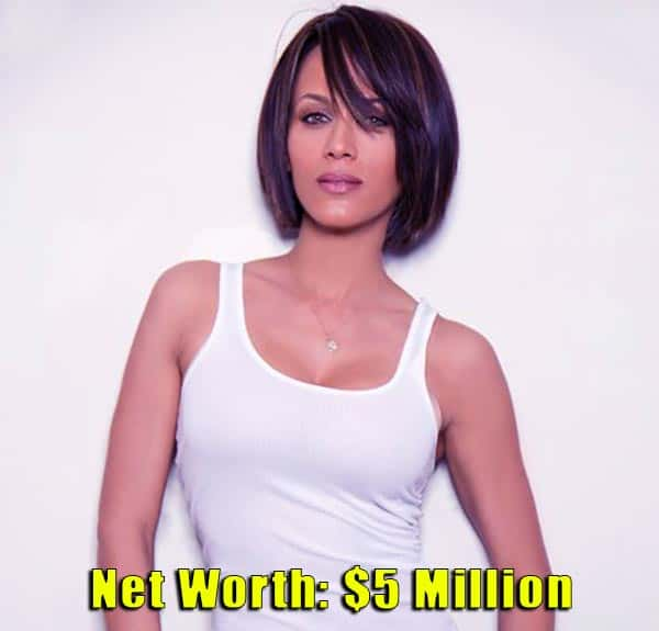 Image of American actress, Nicole Ari Parker net worth is $5 million