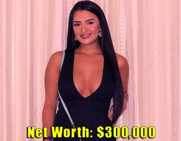 Image of Floribama Shore cast Nilsa Prowant net worth is 300,000