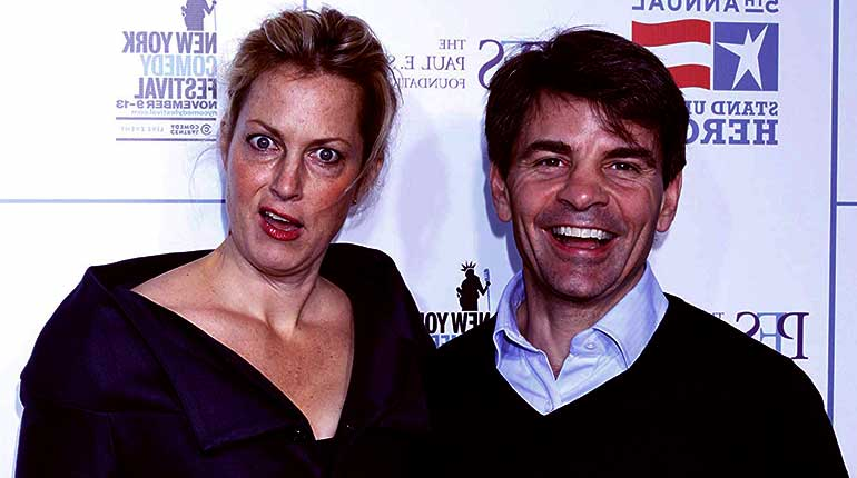 Image of George Stephanopoulos wife Ali Wentworth Net Worth, Age, Height.