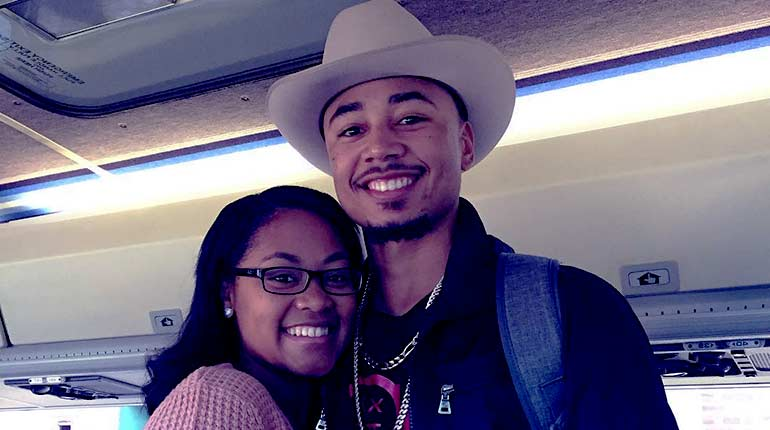 Image of Mookie Betts Wife-to-be: Brianna Hammonds and their relationship