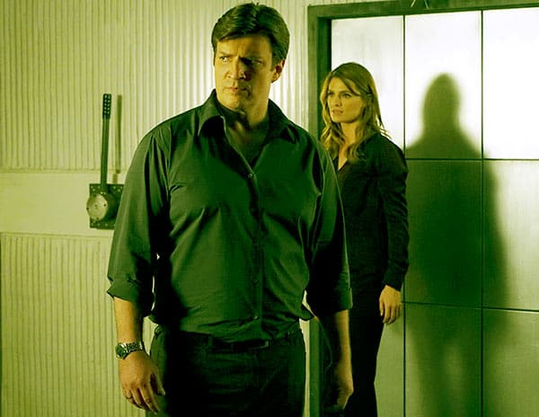 Image of Nathan Fillion In Castle Back