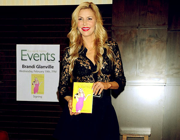 Image of Brandi Glanville Attending A Book Introduction Event For Her Second Book Drinking and Dating: P.S. Social Media Is Ruining Romance