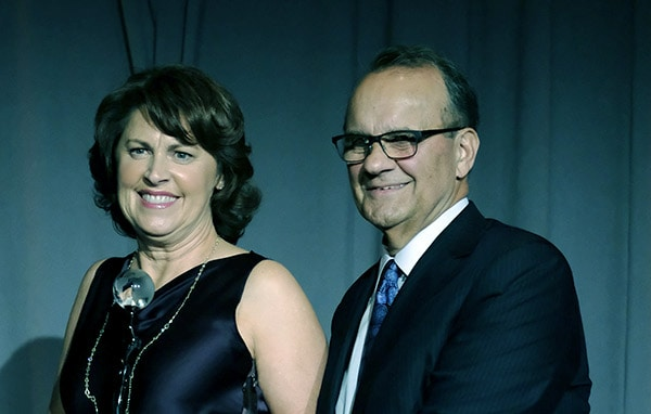 Image of Joe Torre with his wife Alice Wolterman