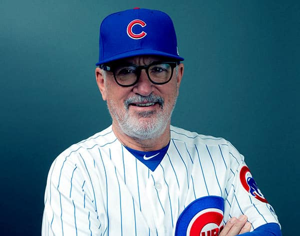 Image of American baseball manager, Joe Maddon