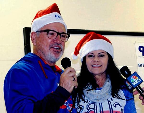 Image of Joe Maddon with his wife Jaye Sousoures Maddon