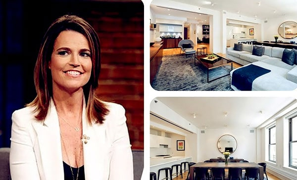 Image of Savannah Guthrie's Tribeca Condo Listed On Sale