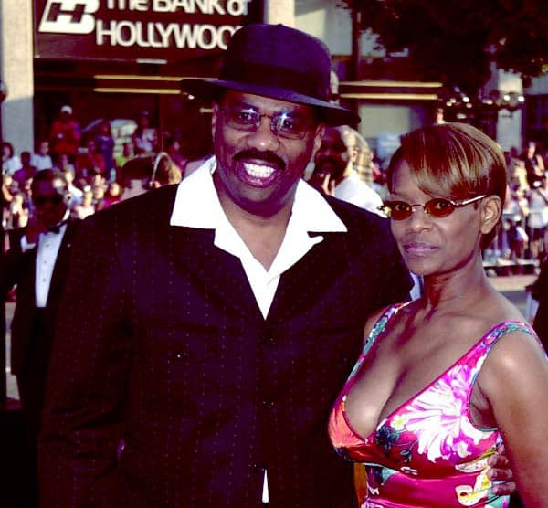 Image of Mary Lee Harvey with her ex-husband Steve Harvey