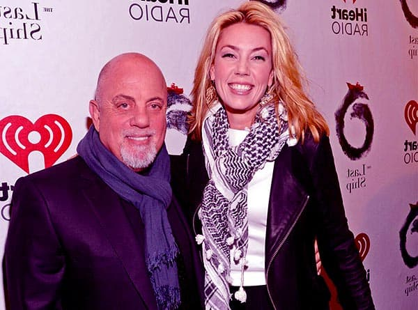 Image of Billy Joel And His Current Wife Alexis Roderick