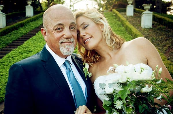 Image of Billy Joel's Marrage to Alexis Roderick PC: People's Magazine