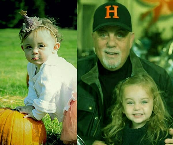 Image of Billy Joel and his youngest daughter Remy Anne Joel