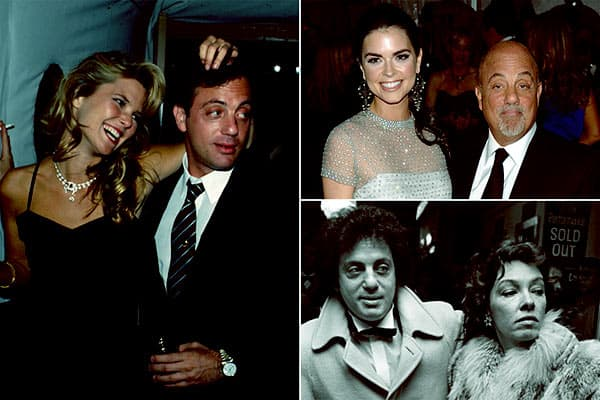 Image of Billy Joel's former wives compiled in a frame