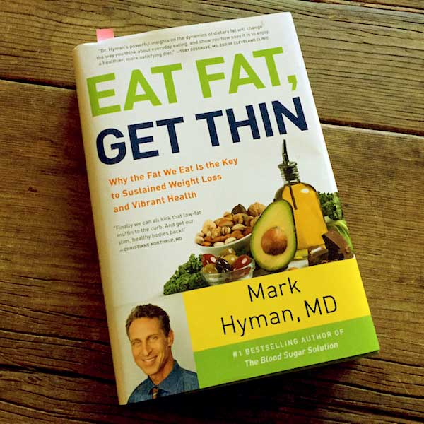 Image of Dr. Mark Hyman book Eat Fat Get Thin