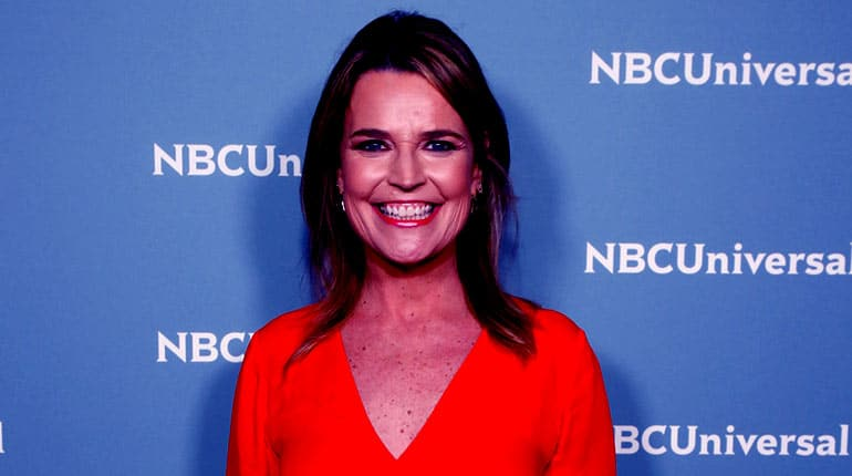 Image of Savannah Guthrie's Net Worth & Salary In 2019